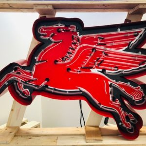 Pegasus neon sign