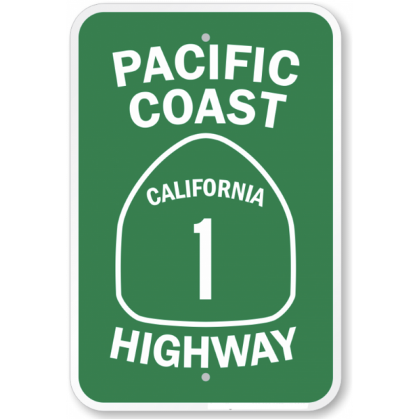 signalisation-usa-pacific-coast-california-1-highway-