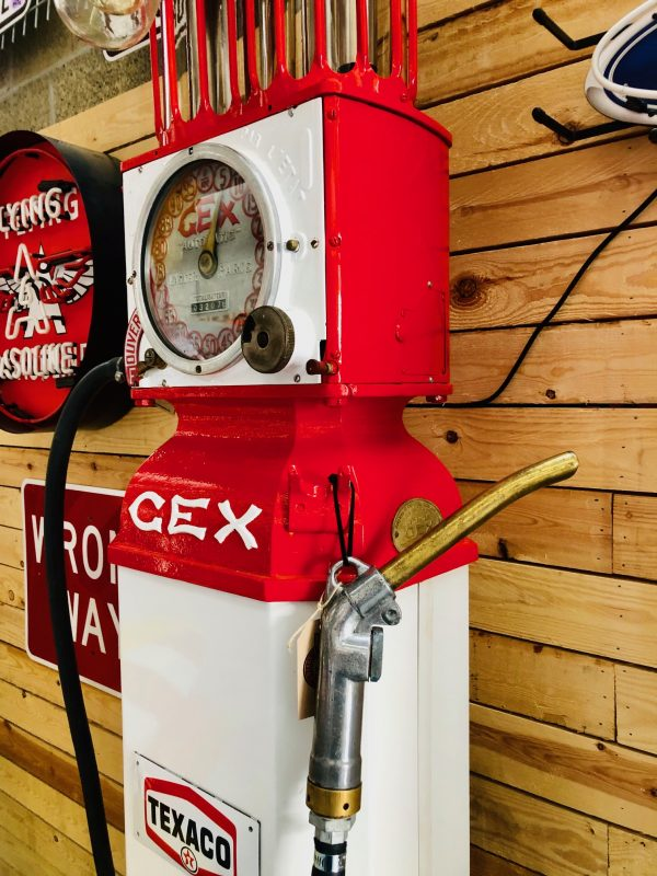 Gex Vintage Gas pump