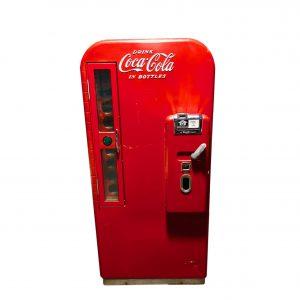 Distributeur américain Coca Cola V81 dans son jus