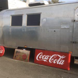 plaque émaillée coca cola 1950