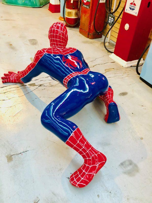 Spider-man resin statue