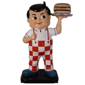 Statue BIG BOY American Diner 190cm