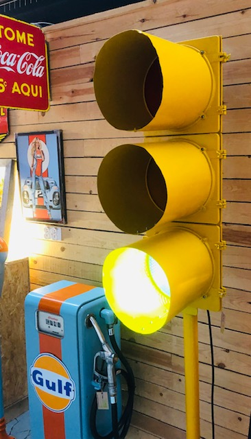Vintage usa traffic light america