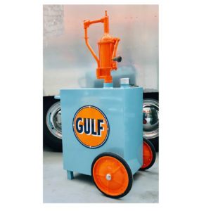 Gulf vintage Oil Tank: American Decoration 50's and 60's
