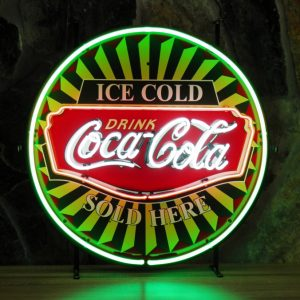 Coca Cola Ice Cold Neon sign