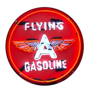 Enseigne neon flying gasoline 60 cm