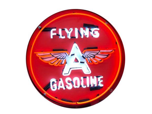 Enseigne neon flying gasoline 60 cm