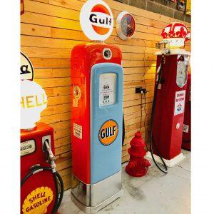 Gulf Vintage gas pump (Martin & Swartz)