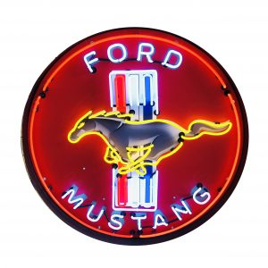 Ford Mustang Metal can Neon Signs 60 cm