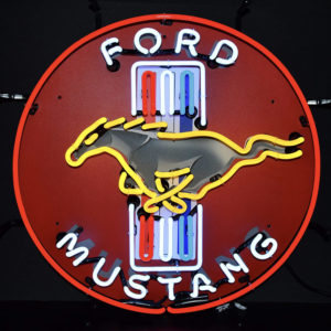 ford mustang neon sign 60 cm