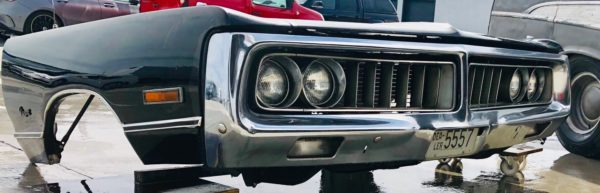 Chrysler car front: American Decoration 70's