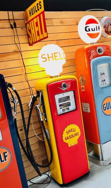 pompe essence shell gilbarco