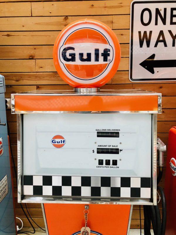 Gulf gas pump