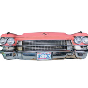 Cadillac front panel: American decoration