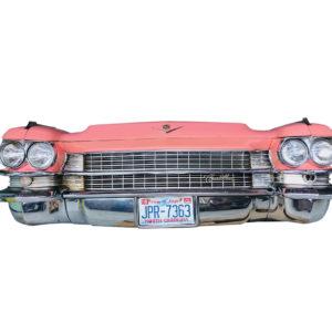 face avant voiture américaine déco murale