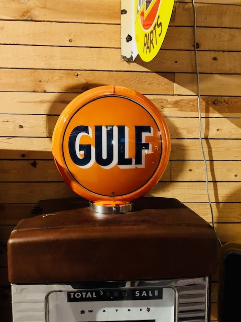 Pompe essence gulf