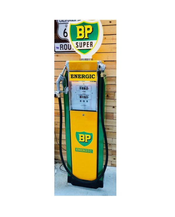 ancienne pompe essence bp