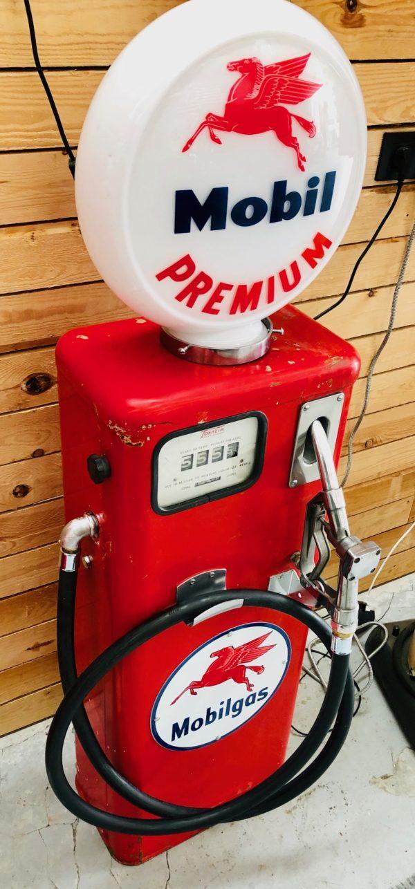 ancienne pompe à essence tokheim
