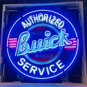 enseigne neon vintage buick xxl