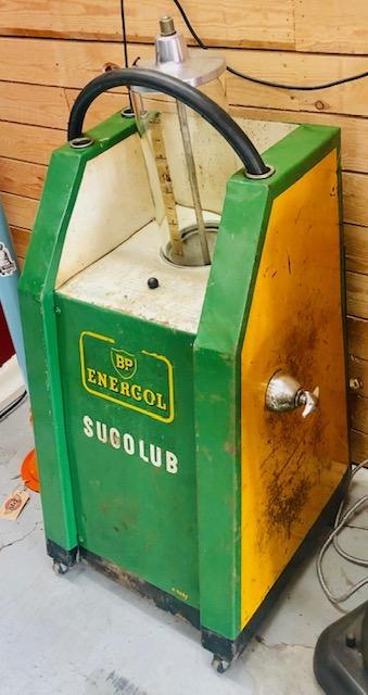 ancien récupérateur huile bp
