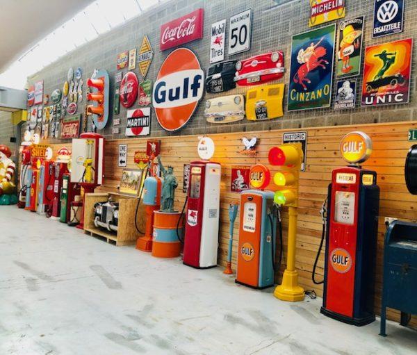 stef vintage store ancienne pompe essence magasin vintage liège belgique