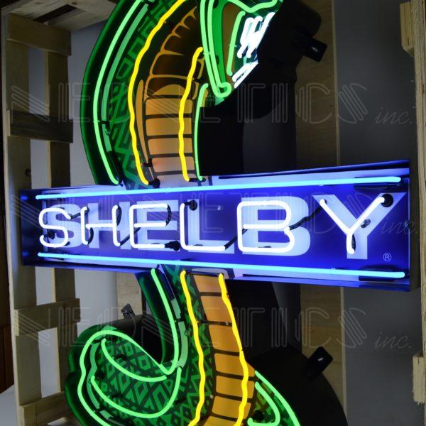 enseigne neon shelby