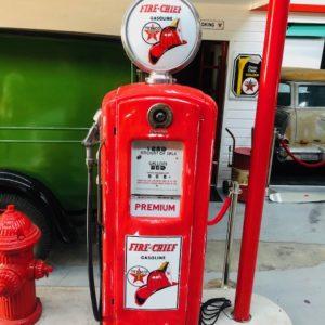 ancienne pompe essence bennett