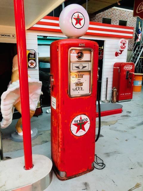 pompe essence vintage Texaco