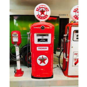 gas pump Texaco Bennett usa