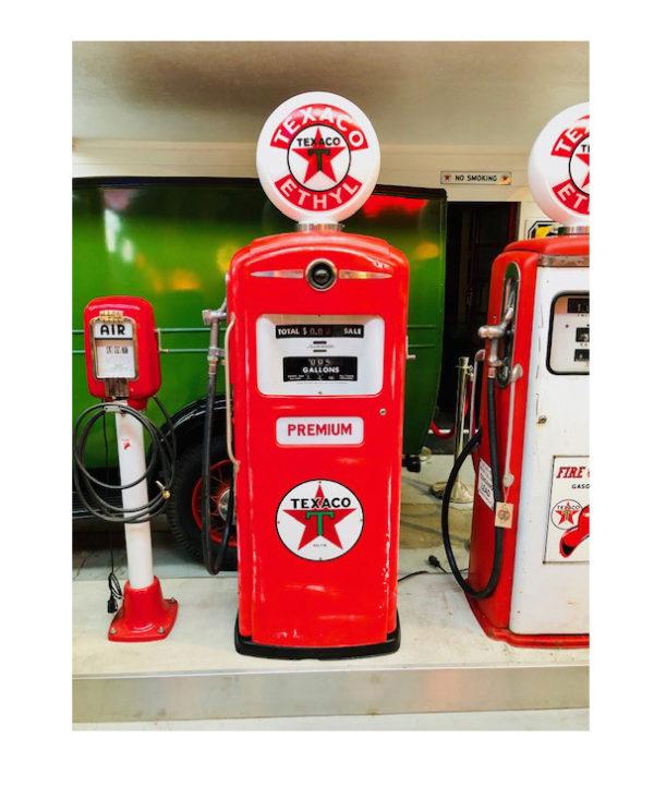 gas pump Texaco Bennett usa