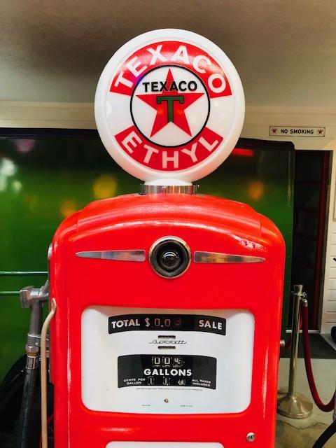 pompe essence Texaco