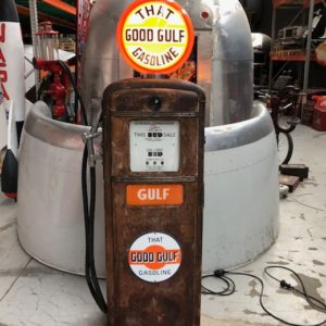 Pompe essence Vintage Gulf