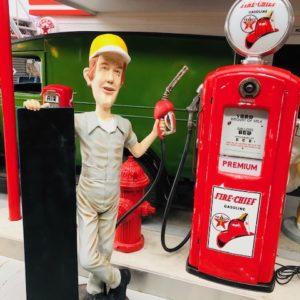 gas pump boy life size