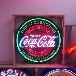 enseigne neon coca cola 95 cm