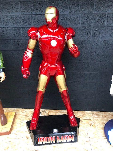 Iron man grandeur nature
