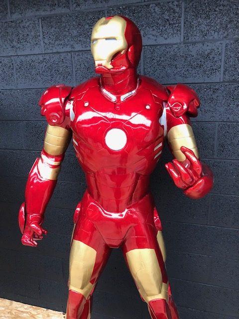 Iron man grandeur nature buste