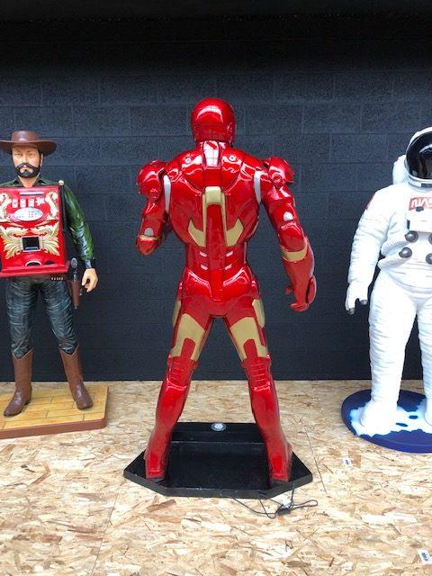 Iron man grandeur nature dos