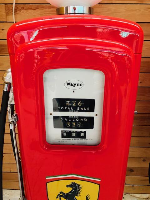 pompe essence Ferrari Wayne