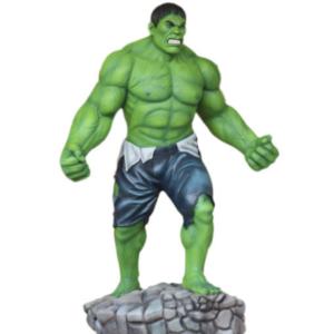 hulk statue en résine grandeur nature