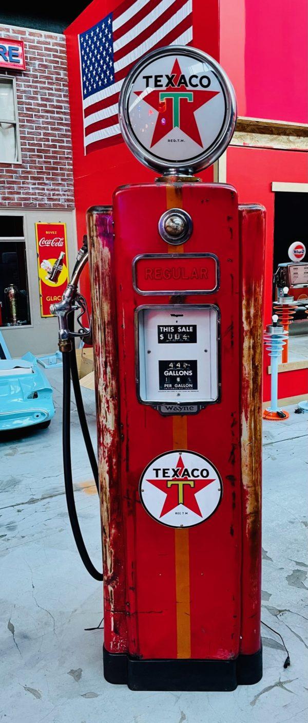 Pompe à essence américaine Texaco Wayne 70