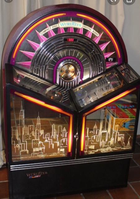 jukebox Wurlitzer New York