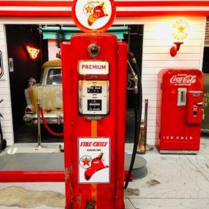 pompe essence américaine wayne 70