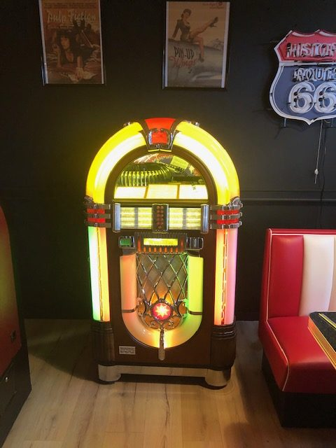 Jukebox Wurlitzer one more time vinyle