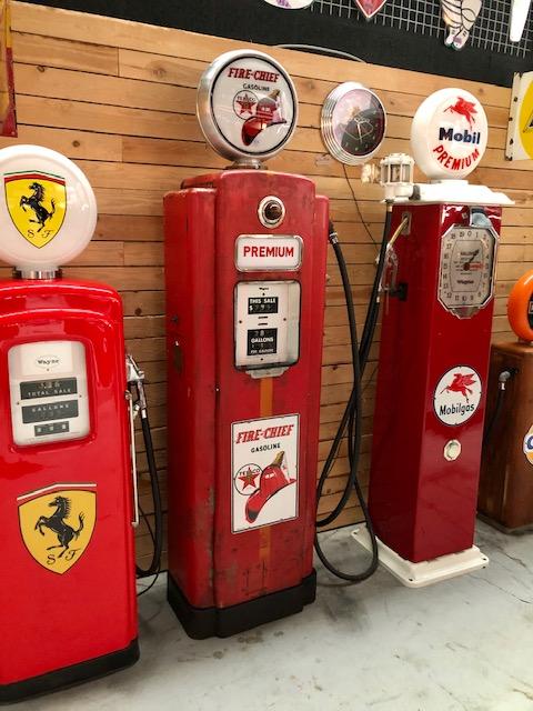 vintage American Texaco gas pump