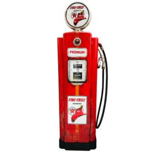 American gas pump Wayne 70 Fire chief