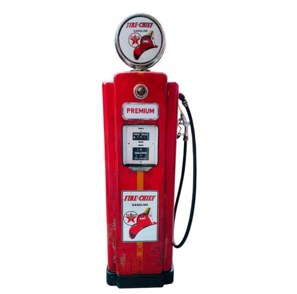 Pompe à essence américaine Texaco Fire chief Wayne 70