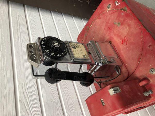 vintage USA payphone