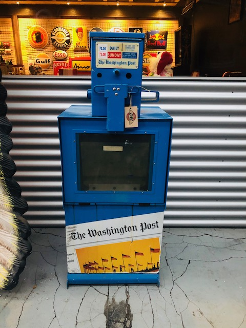 usa Newspaper Box Washington Post