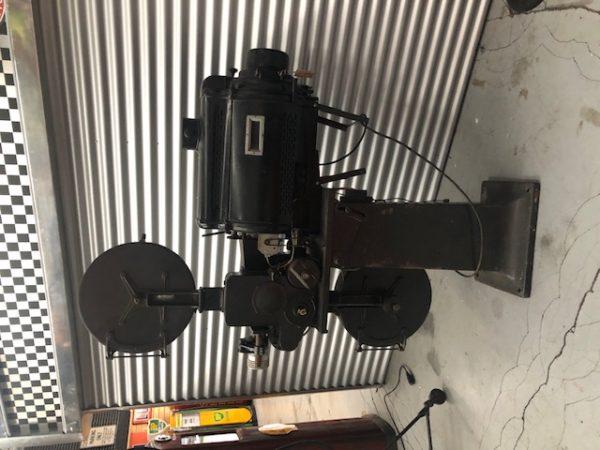 vintage movie projector.